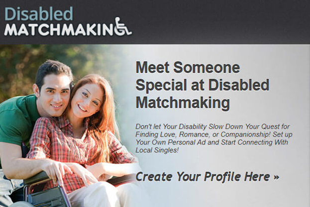 Site- ul de dating al persoanelor cu handicap